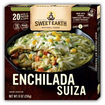 Dr. Gourmet reviews the Mac and Cheese Pizza bowl from Sweet Earth Natural Foods
