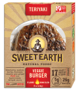 Dr. Gourmet reviews the Teriyaki Veggie Burger from Sweet Earth Natural Foods