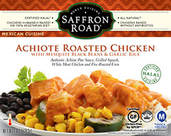 Dr. Gourmet Reviews Achiote Roasted Chicken from Saffron Road Food