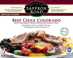 Dr. Gourmet reviews Beef Chile Colorado from Saffron Road Food