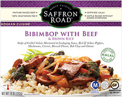 Saffron Road Bibimbop with Beef Reviewed by Dr. Gourmet
