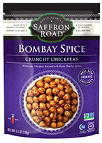 Dr. Gourmet Reviews Bombay Spice Crunchy Chickpeas from Saffron Road Food