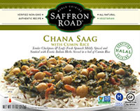 Saffron Road Chana Saag Review by Dr. Gourmet