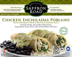 Dr. Gourmet Reviews Chicken Enchiladas Poblano by Saffron Road Foods