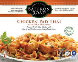 Dr. Gourmet reviews Chicken Pad Thai from Saffron Road Food
