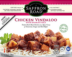 Dr. Gourmet reviews Chicken Vindaloo from Saffron Road Food
