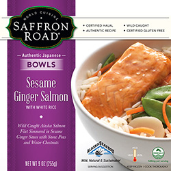 Dr. Gourmet reviews Sesame Ginger Salmon from Saffron Road