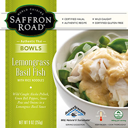 Dr. Gourmet reviews Lemongrass Basil Fish from Saffron Road