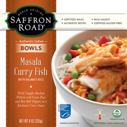 Dr. Gourmet reviews the Masala Curry Fish from Saffron Road Food