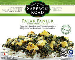 Saffron Road Foods Palak Paneer Review by Dr. Gourmet