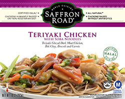 Dr. Gourmet Reviews Teriyaki Chicken by Saffron Road Foods