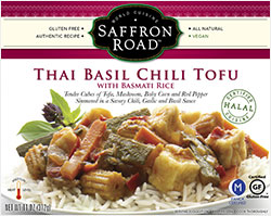 Saffron Road Thai Basil Chili Tofu Review by Dr. Gourmet