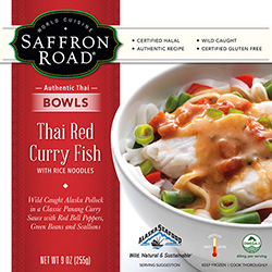 Dr. Gourmet reviews Thai Red Curry Fish from Saffron Road