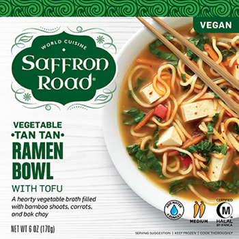 the Dr. Gourmet tasting panel reviews the Vegetable Tan TAn Ramen Bowl from Saffron Road