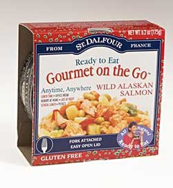 St Dalfour S Gourmet On The Go Wild Alaskan Salmon And Three Bean And Sweetcorn Dr Gourmet