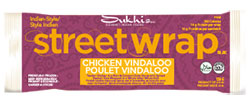 Sukhi's Gourmet Indian Foods Street Wrap Chicken Vindaloo Review by Dr. Gourmet