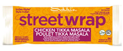 Sukhi's Gourmet Indian Foods Street Wrap Chicken Tikka Masala Review by Dr. Gourmet
