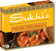 Sukhi's Gourmet Indian Chicken Tikka Masala Reviewed by Dr. Gourmet