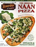 Paneer Spinach Pizza