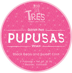 Tres Pupusas Black Bean & Sweet Corn Pupusas Review by Dr. Gourmet