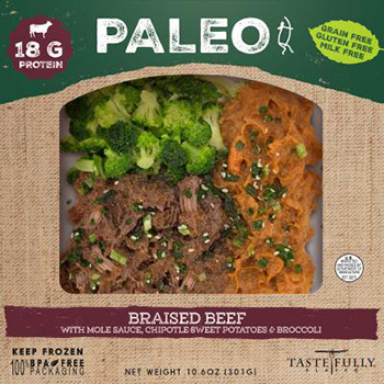 Dr. Gourmet reviews the Braised Beef Paleo Meal from Tastefully Plated