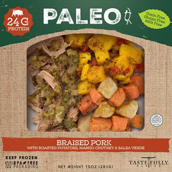 Dr. Gourmet reviews the Braised Pork Paleo Meal from Tastefully Plated