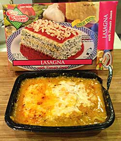 Tuv Taam Lasagna with Tomato Sauce Review by Dr. Gourmet