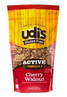 Dr. Gourmet Reviews Udi's Gluten Free Cherry Walnut Granola Clusters