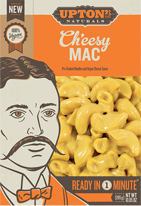 the Dr. Gourmet tasting panel reviews the Ch'eesy Mac from Upton's Naturals