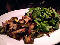Field Greens and Wood Roasted Vegetable Salad