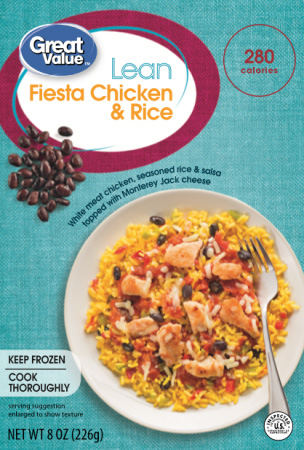 The Dr. Gourmet tasting panel reviews the Fiesta Chicken & Rice from Walmart's Great Value line