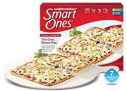Dr. Gourmet Reviews the Thin Crust Cheese Pizza from Weight Watchers