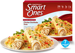 Weight Watchers Smart Ones Chicken Enchilada Suiza Review by Dr. Gourmet