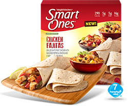 Dr. Gourmet Reviews Weight Watchers Smart Ones Chicken Fajitas