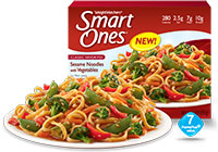 Weight Watchers Smart Ones Sesame Noodles with Vegetables Review by Dr. Gourmet