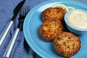 Coumadin Safe Crabcakes Recipe